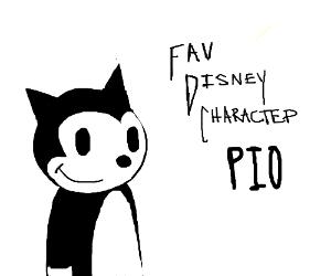 Fav. Disney Character PIO (mine is Donald)