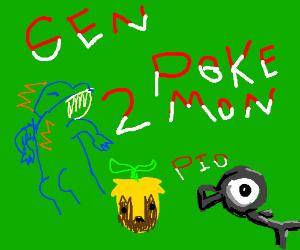 Gen 2 Pokémon p.i.o