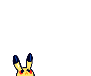 Smol angery pikachu