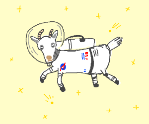 Space Goat - Drawception