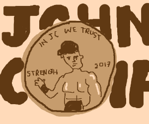 John Cena is on the penny now
