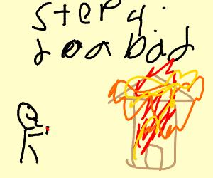 Step 3: do a good