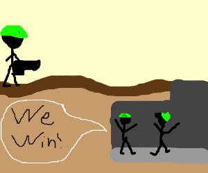 Go underground to win the war