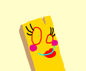 The Female Version Of The Wood Plank From Ed