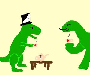 A Dinosaur Tea Party