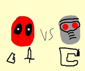 Deadpool VS Star-Lord