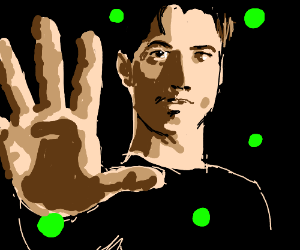 Neo stops fluorescent digital bullets