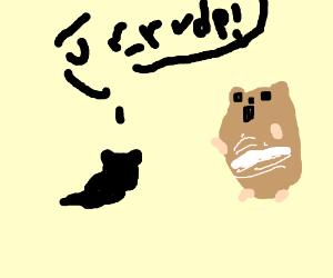 Rude hamsters.