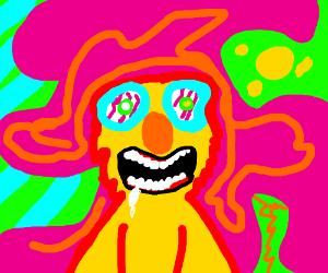 yellmo tripping on acid