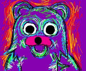 Pedobear is taking some hard drugs