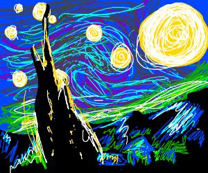 Starry Night (By Vince Van Gogh)
