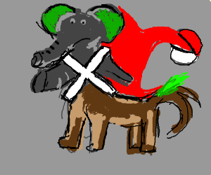Dog X Elephant Pokemon