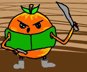 Post-apocalyptic orange