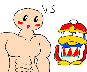 King Dedede vs. Kirby
