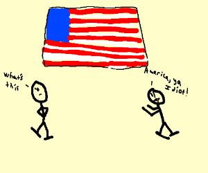 AMERICA, YA IDIOT