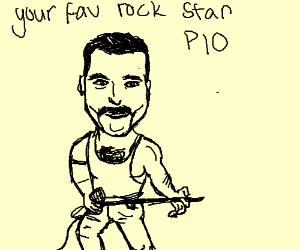 Your fav rock star legend PIO