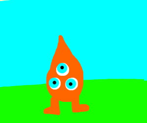The little monster guy in Chicken Little movie