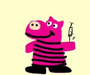 peppa pig with diabetes