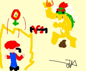 Mario VS bowser Xtreme batool