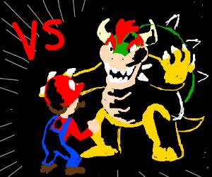 Bowser Vs Mario