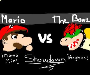 Mario vs The Bowz
