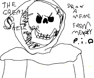 Draw a Meme From Memory (Pass It On)