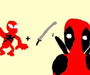 spiderman + sword = deadpool?