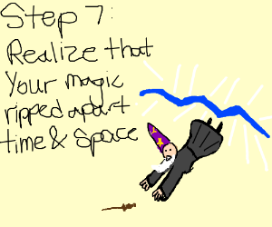 Step 6: Celebrate by spamming magic spells