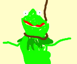 i want to kermit suicide - DrawceptionKermit Drinking Bleach