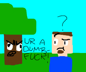 Quot Are You Ok Reatard I Am Wood Stupid Quot Mm2wood Drawception