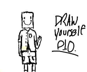 Draw Yourself P.I.O.   (.-.)