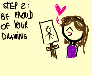 Step 1 : Draw something