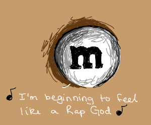 Eminem as an M&M