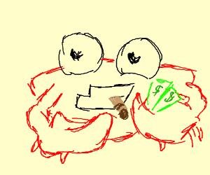 steampunk lobster drawception