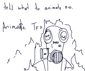 tell what to animate PIO (smth cool) B-)