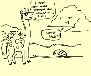Giraffe and Cloud are into Thicc Lammarck