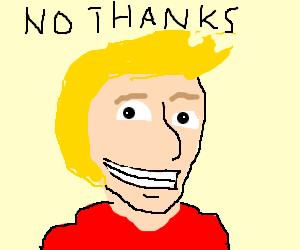 Don't draw jazza