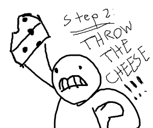 Step One,  throw the nose!