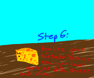 step 5 : become cheese