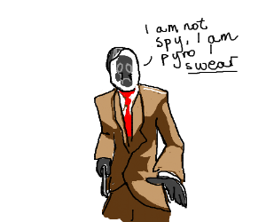 An Obvious Spy