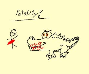 fatal crocodile attack