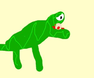 Jurassic park gone horribly wrong