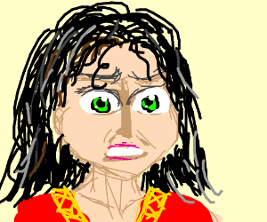 Mother Gothel is VERY angry