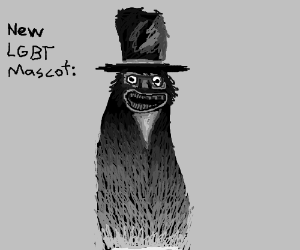 The babadook is gay