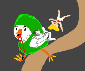 The chicken killed Link & stole his identity