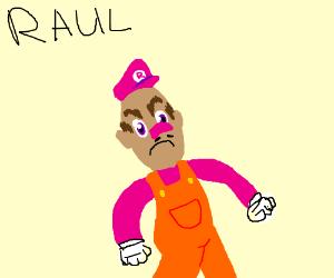 Waluigi's cousin Raul