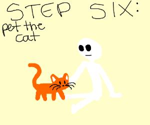 Step 5: let cat find you