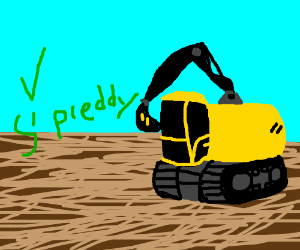 That's a pretty nice excavator.