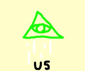 The Illuminati hovers over us all