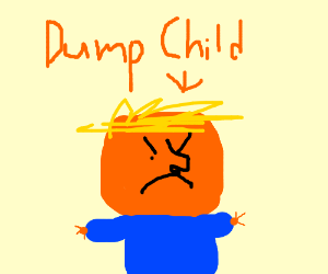 Donald Trump as a child